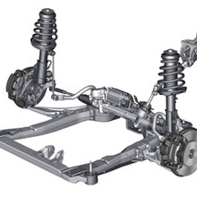 2011 Chevrolet Cruze Front Suspension and Steering System