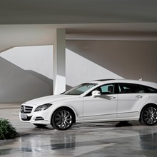 Mercedes-Benz CLS 250 CDI Shooting Brake, (X218), 2012, Lack: designo magno kaschmierweiss, Ausstattung: Leder Passion Exclusiv Mandelbeige