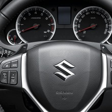 Suzuki-Swift-Ecocar-steering-wheel